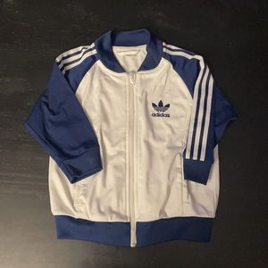Adidas track top size 3T